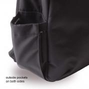 Cerruti 1881 Backpack - дизайнерска водоустойчива ергономична раница за преносими компютри до 15.6 инча (черна) 4