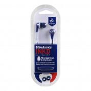 Skullcandy Inkd France Mic - слушалки с микрофон за смартфони и мобилни устройства (син) 1