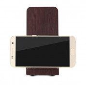 YoLike A8 10W Qi Wireless Charging Wood Stand with LED Light 5