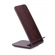 YoLike A8 10W Qi Wireless Charging Wood Stand with LED Light 7