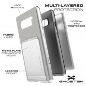 Ghostek Exec Shockproof Case - удароустойчив кейс за Samsung Galaxy Note 8 (черен) 1