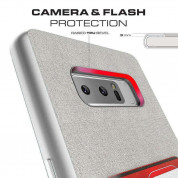 Ghostek Exec Shockproof Case - удароустойчив кейс за Samsung Galaxy Note 8 (черен) 3