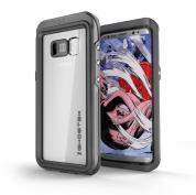 Ghostek Atomic 3 Waterproof Case - ударо и водоустойчив кейс за Samsung Galaxy S8 Plus (черен)