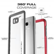 Ghostek Atomic 3 Waterproof Case - ударо и водоустойчив кейс за Samsung Galaxy S8 Plus (черен) 2