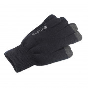 4smarts Winter Gloves Touch Unisex Size S/M - зимни ръкавици за тъч екрани S/M размер (черен) 2