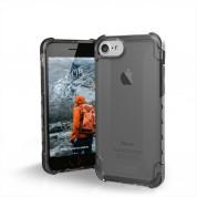 Urban Armor Gear Plyo Case - удароустойчив хибриден кейс за iPhone 8, iPhone 7 (черен-прозрачен)