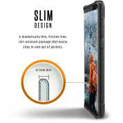 Urban Armor Gear Plyo Case - удароустойчив хибриден кейс за Samsung Galaxy Note 8 (черен-прозрачен) 5