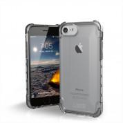 Urban Armor Gear Plyo Case - удароустойчив хибриден кейс за iPhone 8, iPhone 7 (прозрачен)