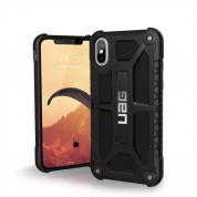 Urban Armor Gear Monarch Case for iPhone XS, iPhone X (midnight black)