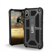 Urban Armor Gear Monarch Case for iPhone XS, iPhone X (graphite black)
