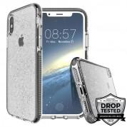 Prodigee SuperStar Case - хибриден кейс с висока степен на защита за iPhone XS, iPhone X (сребрист)