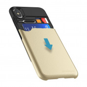 Prodigee Undercover Case for iPhone XS, iPhone X (gold) 1