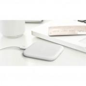 Samsung Wireless QI Charging Station Mini Pad EP-PA510BWEGWW- поставка (пад) за безжично захранване за QI съвместими устройства (бял) 3