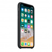 Apple Silicone Case for iPhone XS, iPhone X (black) 3