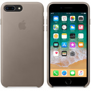 Apple iPhone Leather Case for iPhone 8 Plus, iPhone 7 Plus (taupe) 3