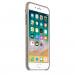Apple iPhone Leather Case - оригинален кожен кейс (естествена кожа) за iPhone 8 Plus, iPhone 7 Plus (светлокафяв) 5