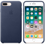 Apple iPhone Leather Case for iPhone 8 Plus, iPhone 7 Plus (midnight blue) 1