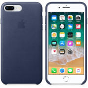 Apple iPhone Leather Case for iPhone 8 Plus, iPhone 7 Plus (midnight blue) 2