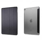 Torrii Torrio Case - кожен кейс и поставка за iPad 6 (2018), iPad 5 (2017) (черен)