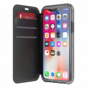Griffin Survivor Clear Wallet  for iPhone XS, iPhone X (Black) 2