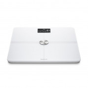 Nokia Body Plus Full Body Composition WiFi Scale - безжичен кантар с приложение за iOS и Android (бял)