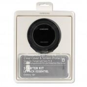 Samsung Starter Kit EP-WG95F - комплект станция за безжично зареждане, кейс, кабел и покритие за Samsung Galaxy S8 Plus (черен)  1