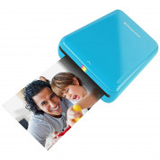 Polaroid ZIP Instant Photoprinter - мобилен принтер за снимки (син) 1