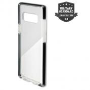 4smarts Soft Cover Airy Shield - хибриден удароустойчив кейс за Samsung Galaxy Note 8 (черен-прозрачен) 1