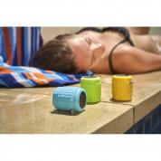 AquaJam AJMini Waterproof IPX7 Speaker - водоустойчив безжичен спийкър с микрофон и вградена батерия за мобилни устройства (зелен) 4