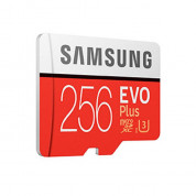 Samsung MicroSDXC 256GB EVO Plus UHS-I Memory Card U3, 4K Ultra HD Video (model 2017) 1