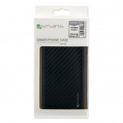 4smarts Clip-On Cover Trendline Carbon - удароустойчив карбонов кейс за Samsung Galaxy S8 Plus (карбон) 1