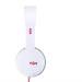 The House of Marley The Roar On-Ear Headphones - слушалки за iPhone, iPod и устройства с 3.5 мм изход (бял-оранжев) (bulk) 3