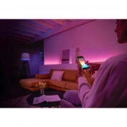 Philips Hue E27 Edison Screw LED Starter Kit - система за безжично управляемо осветление за iOS и Android устройства 4