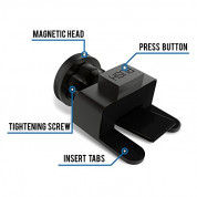 TechMatte MagGrip Mini CD Magnetic Car Mount 5