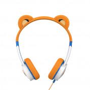iFrogz Little Rockers Costume V2 Tiger Kids On-Ear Headphones - слушалки подходящи за деца за мобилни устройства (оранжев) 1