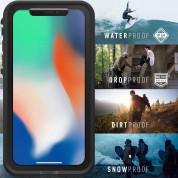 LifeProof Fre case for iPhone XS, iPhone X (black) 5