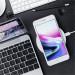 Satechi Wireless Charging Pad Fast Charge - поставка (пад) за безжично захранване за QI съвместими устройства (сребрист) 10