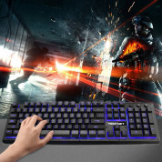 TeckNet X703 LED Illuminated Gaming Keyboard - геймърска клавиатура с LED подсветка (за PC) 6
