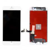 OEM iPhone 8 Plus Display Unit - резервен дисплей за iPhone 8 Plus (пълен комплект) - бял