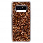 CaseMate Karat Case - дизайнерски кейс с елементи от розово злато и висока защита за Samsung Galaxy Note 8 (розово злато) 1