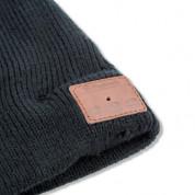 4smarts Basic Beanie Bluetooth Headset - шапка с вградени безжични слушалки и мобилни устройства (черен) 1