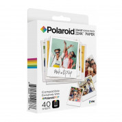 Polaroid Zink Media - фотохартия Zink 3x4 инача за Polaroid POP Instant Camera (40 пакета)