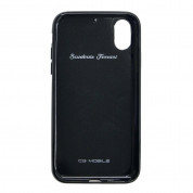 Ferrari Heritage Real Carbon Hard Case for iPhone XS, iPhone X (black) 1
