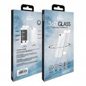 Eiger 3D 360 Screen Protector Back and Front Glass for iPhone iPhone 8, iPhone 7 (Clear/White) 4