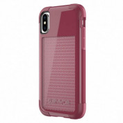 Griffin Survivor Fit for iPhone XS, iPhone X (Dark Red/Red)
