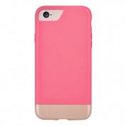 Comma Glide Case - поликарбонатов слайдер кейс за iPhone 8, iPhone 7 (розов-златист)