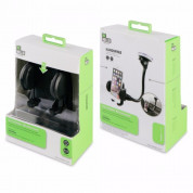 BeHello Car Holder on Windscreen with Longneck - 5.5 inches in Black 3