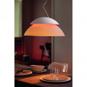 Philips Hue Beyond-Suspension Dimmable LED Smart Table Lamp (White, Compatible with Amazon Alexa, Apple HomeKit, and Google Assistant)  1