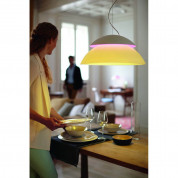 Philips Hue Beyond-Suspension Dimmable LED Smart Table Lamp (White, Compatible with Amazon Alexa, Apple HomeKit, and Google Assistant)  2