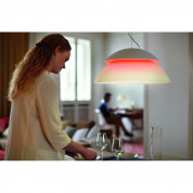 Philips Hue Beyond-Suspension Dimmable LED Smart Table Lamp (White, Compatible with Amazon Alexa, Apple HomeKit, and Google Assistant)  3